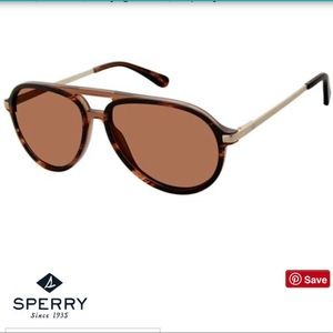 NEW Sperry POLARIZED Aviator Sunglasses